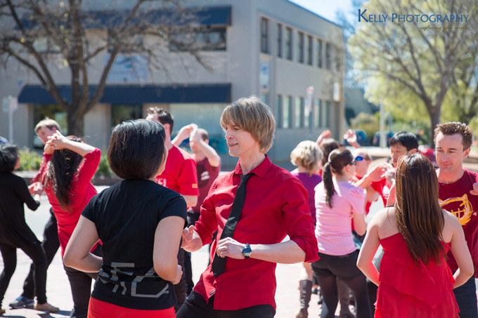 Zouk Flash Mob - Canberra Event Photography (1)